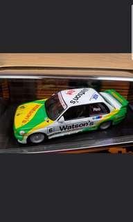 100%new 1/43 BMW M3 e30 Grand Prix Macau 1991 Watson's Last one