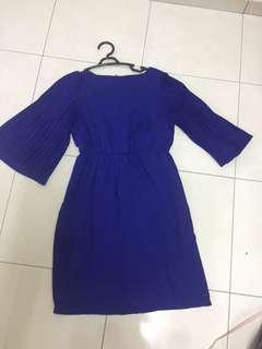 Doublewoot navy blue dress m size