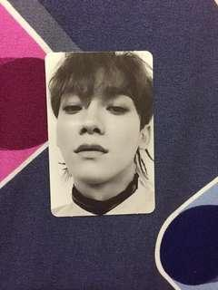 [WTS] Chen Don't Mess Up My Tempo Photocard