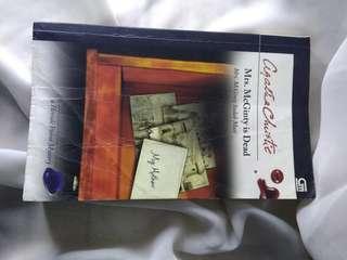 Novel Agatha Christie Mrs. McGinty sudah mati