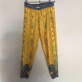 Silk leggings