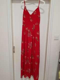 Parisian Floral Cami Maxi Dress  (Worn once) 連衣裙