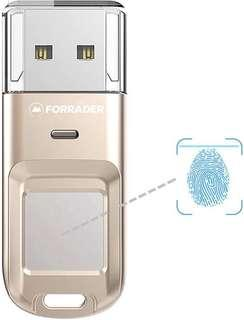 Forrader fingerprint USB flash drive 64gb