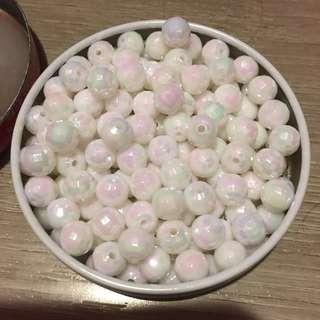 贈送!一盒白色珠珠