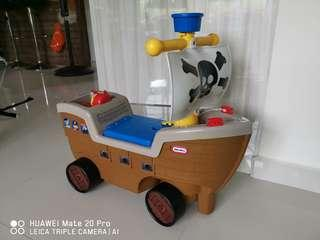 Little tikes pirate boat