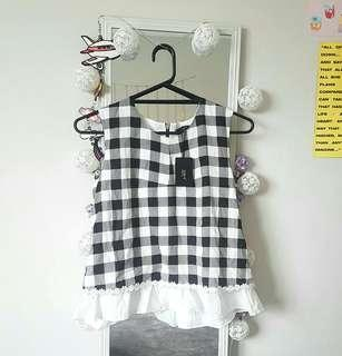 Gingham Top ☆