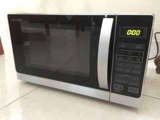 **NEW** Sharp Microwave Oven With Grill R602ZS #cnykitchen