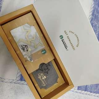 Starbucks 5th anniversary special edition box