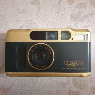 Contax T2 Gold 60th Anniversary rare