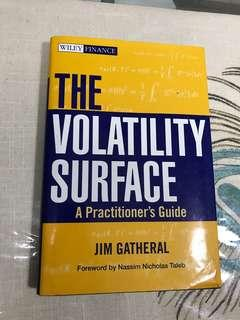 The volatility surface by Jim Gatheral hard cover
