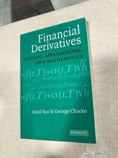 Baz and Chako's Financial Derivatives