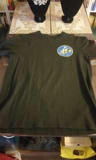 二戰飛虎隊T恤 (全新) (ⅩⅩL碼)