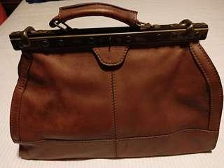 Dijual Tas Vintage Merk Salamander France Leather Made In Italy Second (Nego)