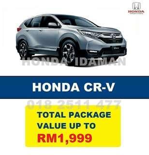 HONDA CRV PROMOTION