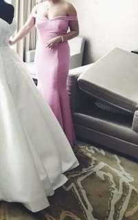 PINK serpentina gown