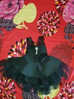 To Bless - Baby girls dress - Black Butterfly