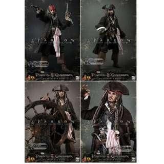 Hottoys Hot Toys DX06  Pirates of the Caribbean Jack Sparrow 魔盜王