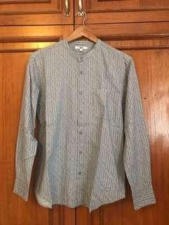 100% Original : Kemeja Batik Uniqlo Size L