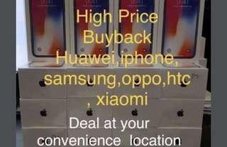 High price buyback new/used iphone xs max,xs,x,8,8 plus,7,6,se and 5s