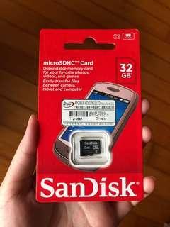 SanDisk microSDHC Card 32 GB
