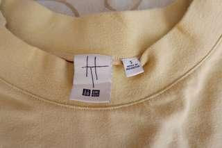 Uniqlo T-Shirt wide rib lengan panjang
