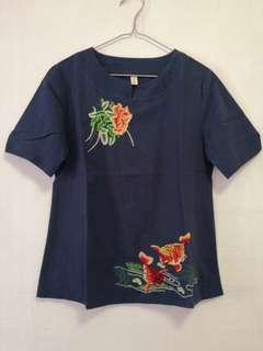 Embroidered Top CNY Shirt