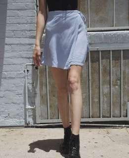 brandy melville genevieve wrap skirt