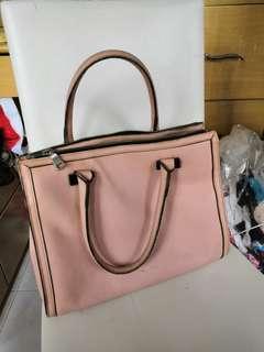 wanko粉色手袋