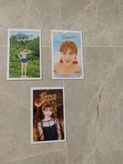 Twice Dance The Night Away Lomo Card ( Jeongyeon ).