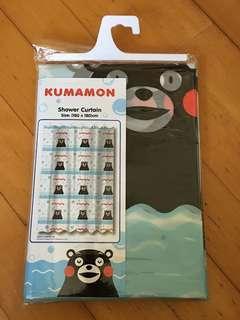 Kumamon shower curtain熊本熊浴簾