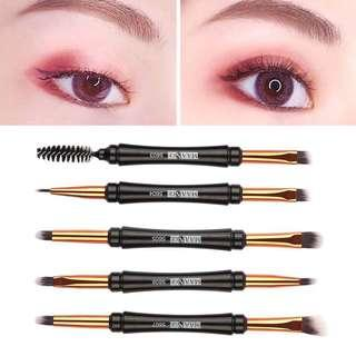 🌸BS0244 1Pc Double Head Synthetic Eye Makeup Brush🌸