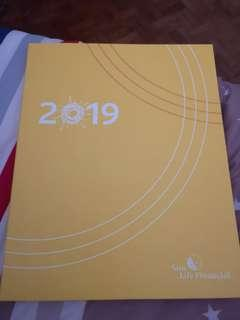 Planner large notebook size