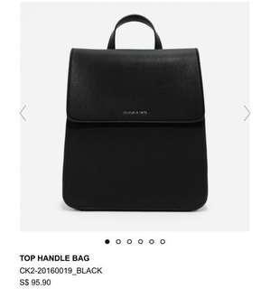 Charles & Keith Backpack (Top handle bag)