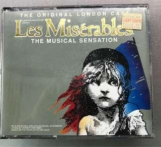 Les Miserables (original concert CD 2x)