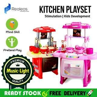 💟Ready Stock💟Kitchen Playset For Kids