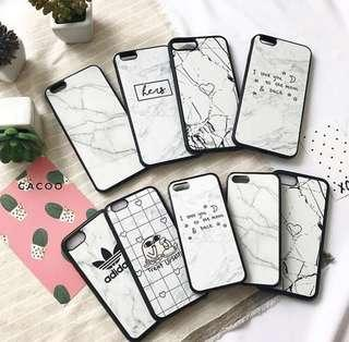 Variety of iPhone cute cases