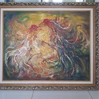 Ayam Tarung by . Maria Tjui