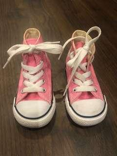 Converse Highcut Pink for toddlers