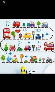 Vehicle Wall Sticker