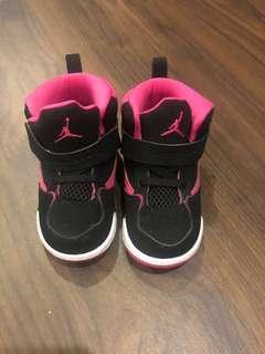 Nike Jordan Pink Black for Toddlers