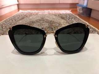 Miu Miu black shades