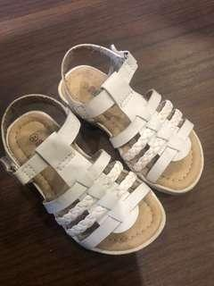 White Sandals for toddlers
