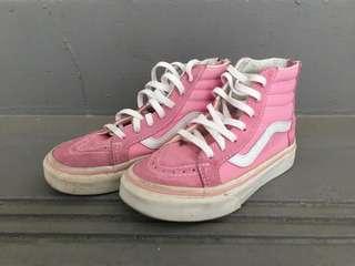 Pink Vans Shoes (Girls)