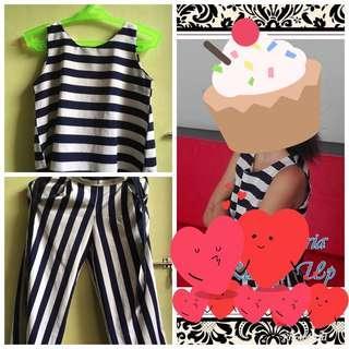 Stripe Terno For Sale