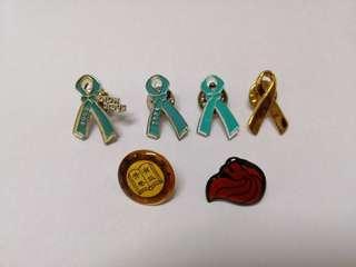 Various Badges