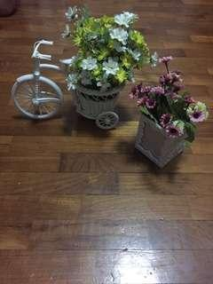 Flower Deco•Bicycle•Box [Set]