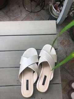 Dirty White Sandals