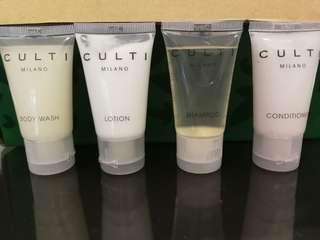 Culti Milano travel toiletry set