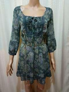 BNWOT Marks&Spencer Flora Sheer Dress