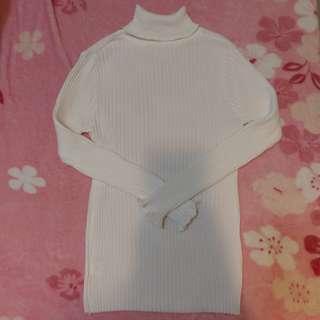 針織上衣 白色上衣